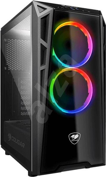 Cougar Turret RGB - Počítačová skriňa