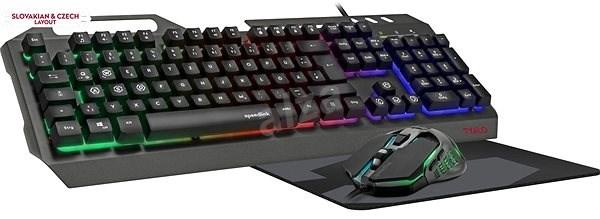 SPEED LINK Tyalo Set, čierna, CZ/SK - Set klávesnica a myš