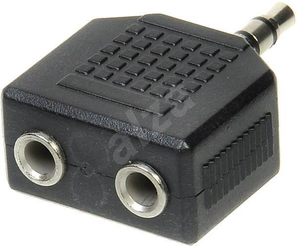 OEM audio 3,5 mm JACK --> 2x 3,5 mm JACK - Redukcia