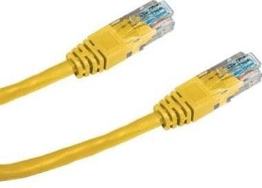 Datacom CAT5E UTP žltý 1 m - Sieťový kábel