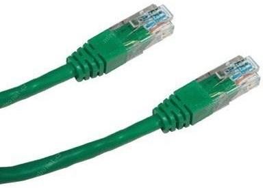 Datacom CAT5E UTP zelený 1 m - Sieťový kábel