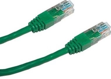 Datacom CAT5E UTP zelený 3 m - Sieťový kábel