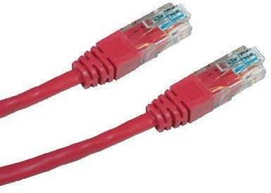 Datacom, CAT5E, UTP, 7m, červený - Sieťový kábel
