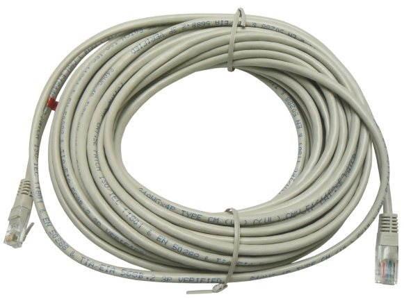 Datacom, CAT5E, UTP krížený (cross), 15 m - Sieťový kábel