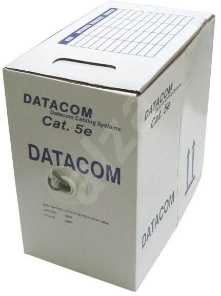 Datacom drôt CAT5E, FTP, PVC 305 m/box - Sieťový kábel