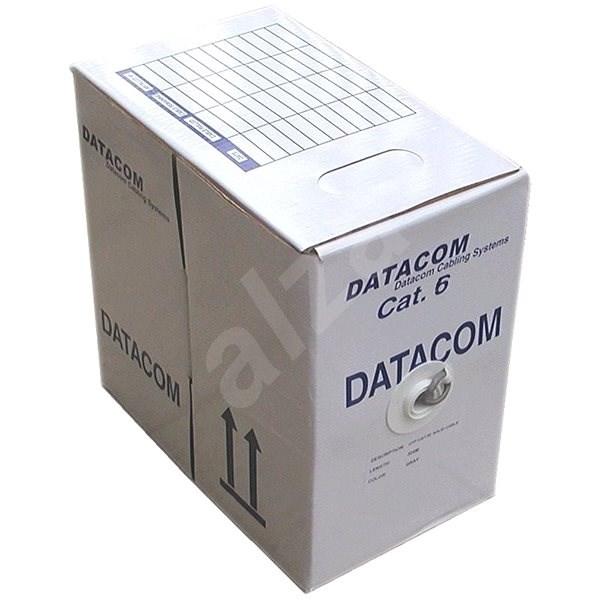 Datacom, drôt, CAT6, UTP, 305 m/box - Sieťový kábel