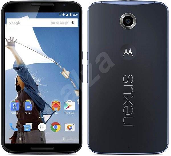 Motorola Nexus 6 Midnight Blue - Mobilný telefón