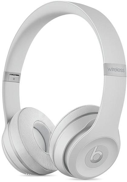 Beats Solo3 Wireless - matne strieborné - Bezdrôtové slúchadlá