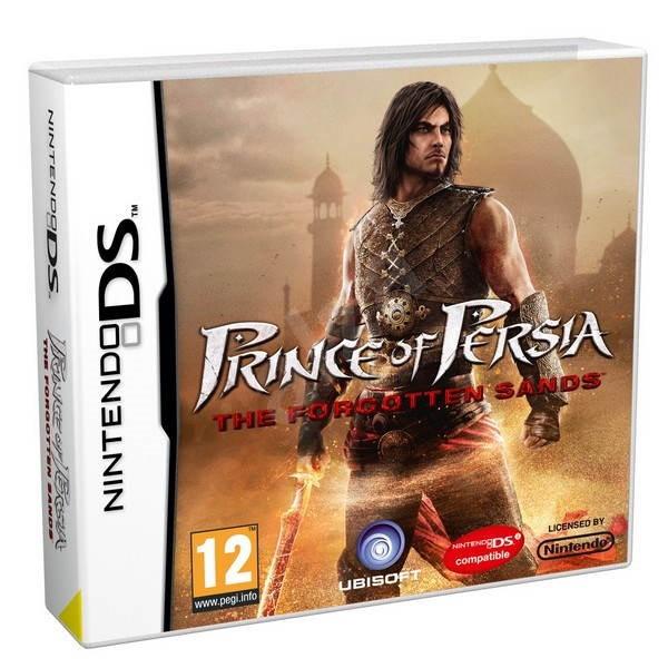 Nintendo DSi - Prince of Persia: The Forgotten Sands - Hra na konzoli