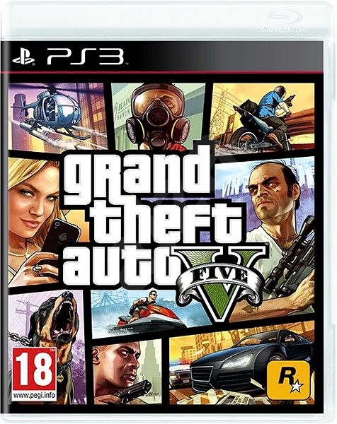 Grand Theft Auto V – PS3 - Hra na konzolu