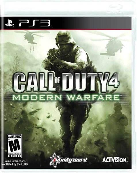 Call of Duty: Modern Warfare - PS3 - Hra na konzolu