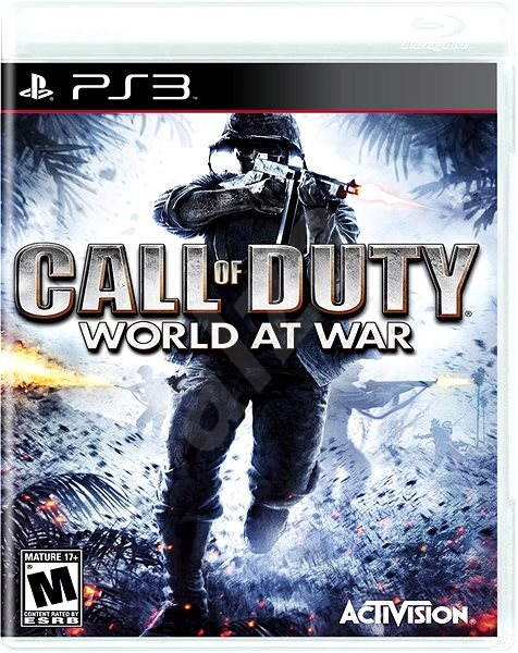 Call Of Duty: World At War - PS3 - Hra na konzolu