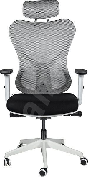 2a0cb55c26ba MOSH BS-301 čierno biela - Kancelárska stolička