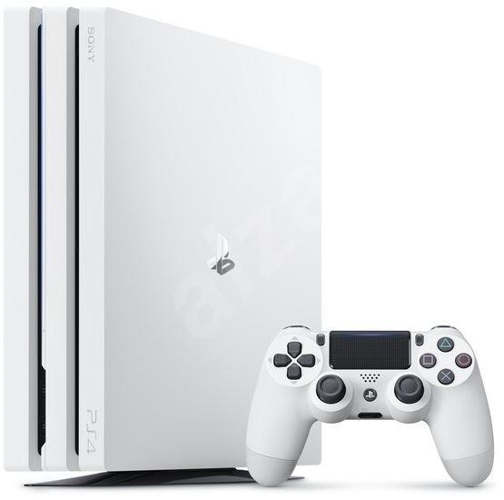 PlayStation 4 Pro 1 TB – Glacier White - Herná konzola
