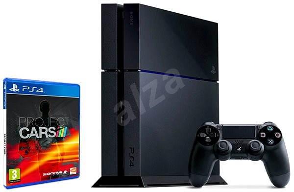 Sony Playstation 4 - 500 GB  +  Project Cars - Herní konzole