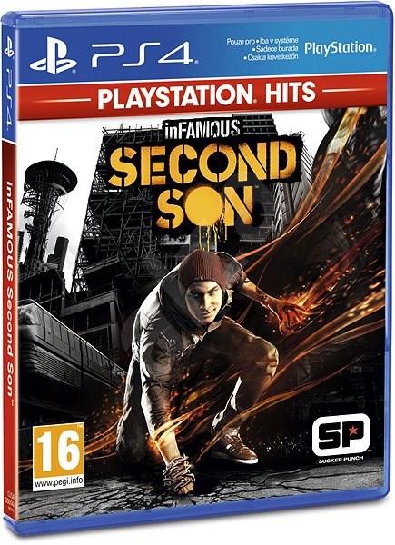 PS4 - InFamous: Second Son - Hra na konzolu