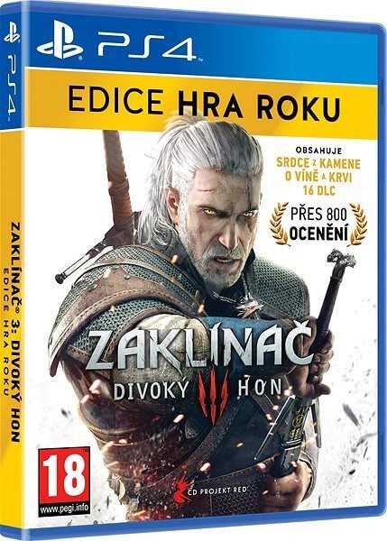 Zaklínač 3: Divoký hon - Edícia Hra Roka CZ - PS4 - Hra na konzolu