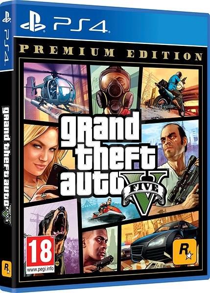 Grand Theft Auto V Premium Edition - PS4 - Hra na konzolu