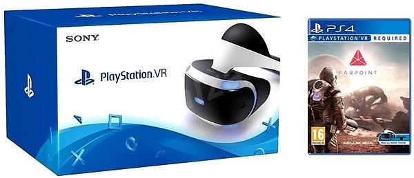 cead5dfd4 PlayStation VR pre PS4 + Farpoint + Aim Controller - Okuliare na virtuálnu  realitu