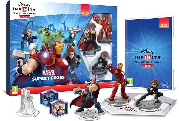 PS4 - Disney Infinity 2.0: Marvel Super Heroes Starter Pack - Hra na konzolu