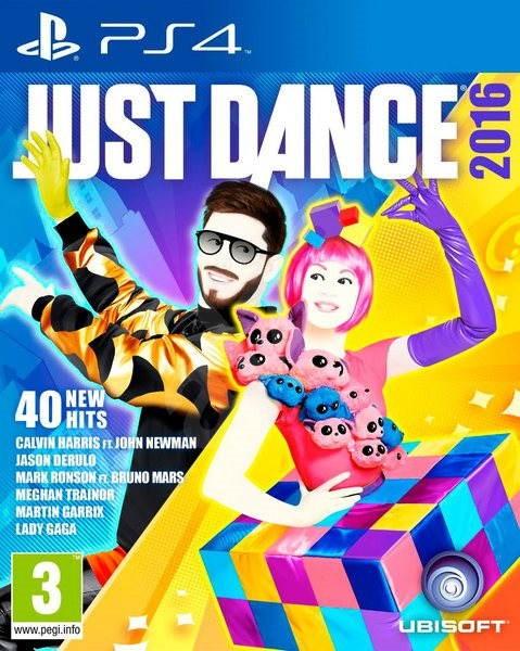 PS4 - Just Dance 2016 - Hra na konzolu
