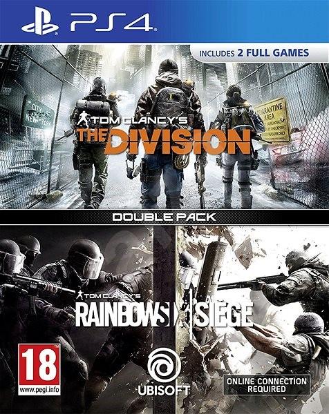 748e7425506ef Rainbow Six Siege + The Division DuoPack - PS4 - Hra na konzolu ...