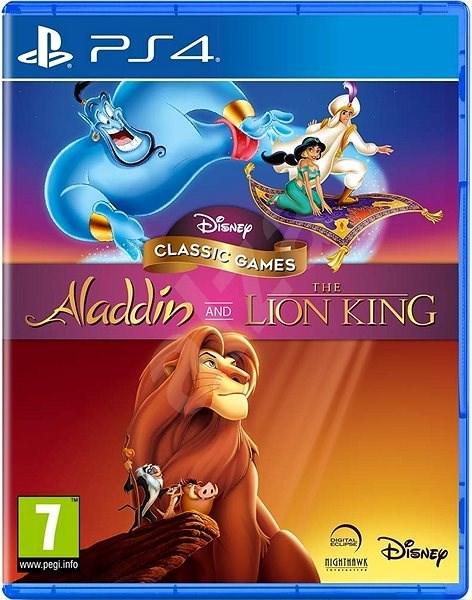 Disney Classic Games: Aladdin and the Lion King – PS4 - Hra na konzolu