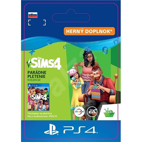 The Sims 4: Nifty Knitting Stuff Pack – PS4 SK Digital - Herný doplnok