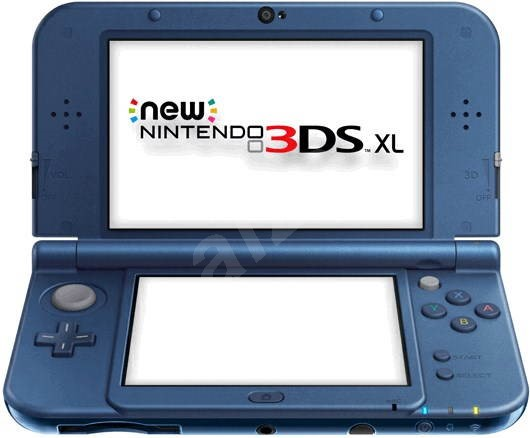 Nintendo NEW 3DS XL Metallic Blue - Herná konzola