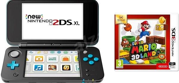Nintendo NEW 2DS XL + Super Mario 3D Land - Herná konzola