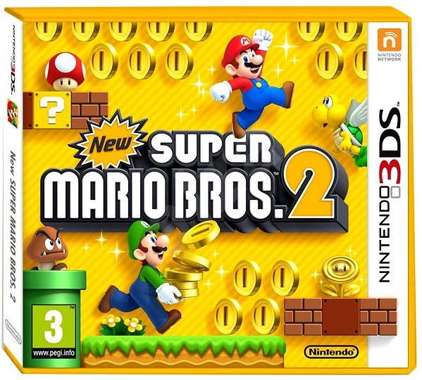 New Super Mario Bros. 2 - Nintendo 3DS - Hra na konzolu