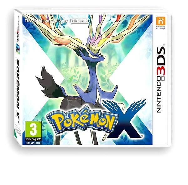 Pokémon X - Nintendo 3DS - Hra na konzolu