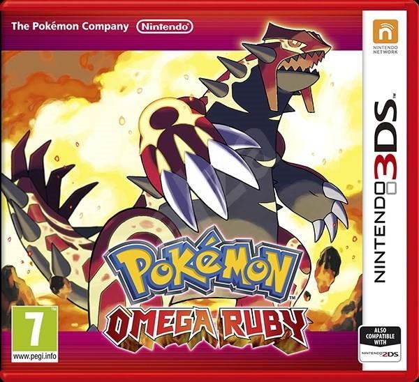 Nintendo 3DS - Pokemon Omega Ruby - Hra na konzolu  87280a320ad