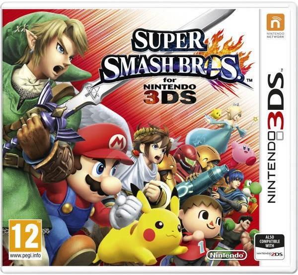 Super Smash Bros - Nintendo 3DS - Hra na konzolu  dfe7bc6811c
