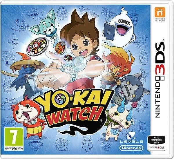 YO-KAI WATCH - Nintendo 3DS - Hra na konzolu