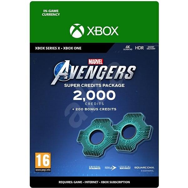 Marvels Avengers: 2,200 Credits Package – Xbox One Digital - Herný doplnok