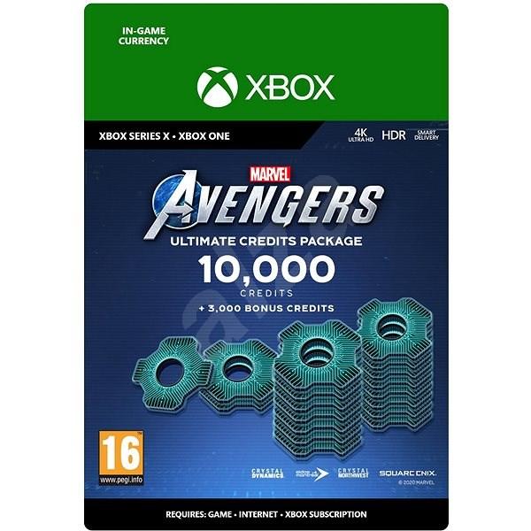 Marvels Avengers: 13,000 Credits Package – Xbox One Digital - Herný doplnok
