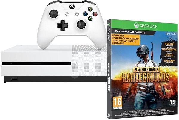 b74a2122f Xbox One S 1TB + Playerunknown's Battleground - Herná konzola | Alza.sk