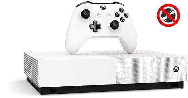 Xbox One S 1TB All-Digital Edition - Herná konzola