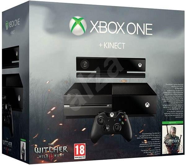 3c725716a Microsoft Xbox One so senzorom Kinect + Zaklínač 3: Divoký Hon CZ + Dance  Central