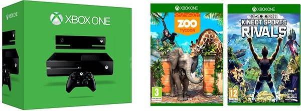 1a069da36 Microsoft Xbox One so senzorom Kinect + 2 hry - Herná konzola   Alza.sk