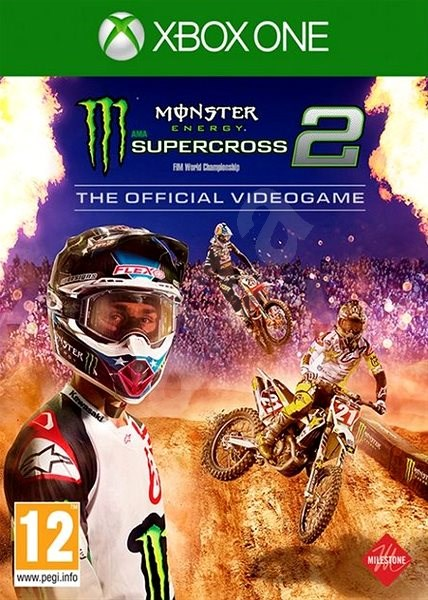 Monster Energy Supercross – The Official Videogame 2 – Xbox One - Hra na konzolu