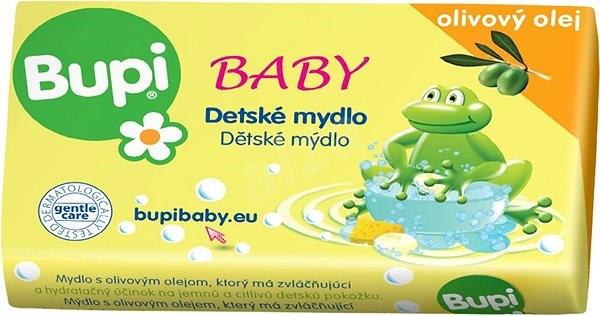 BUPI Baby Detské mydlo s olivovým olejom 100 g - Tuhé mydlo