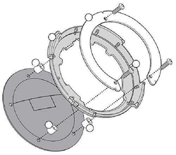 bf088c4d1eac3 KAPPA redukcia pre tanklock pre motocykle Suzuki - Montážna súprava ...