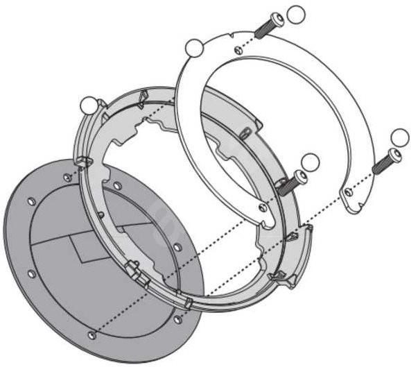 8879dafb18a56 KAPPA redukcia pre tanklock pre motocykle Honda - Montážna súprava ...
