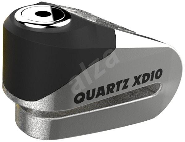 OXFORD zámok kotúčovej brzdy Quartz XD10 - Zámok na motorku
