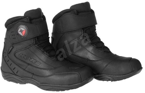 3f3e9a3d8fb7 KORE Velcro 45 - Topánky na motorku