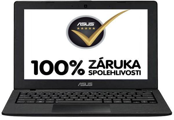 ASUS X200MA-CT452H Touch černý - Notebook