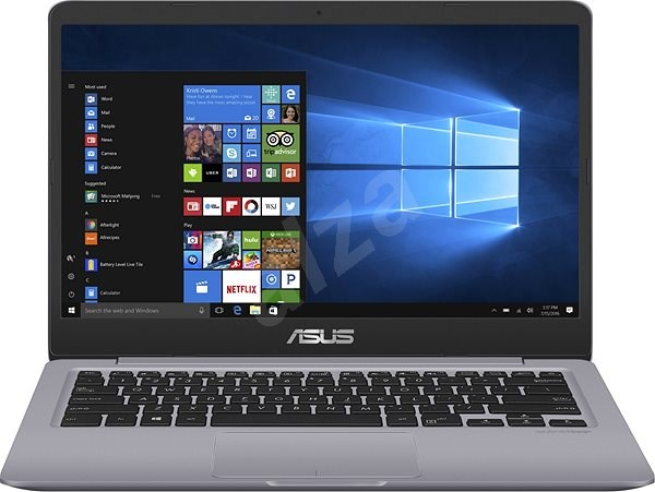 ASUS VivoBook S14 S410UA-EB264T Grey Metal - Notebook  95e49177a00