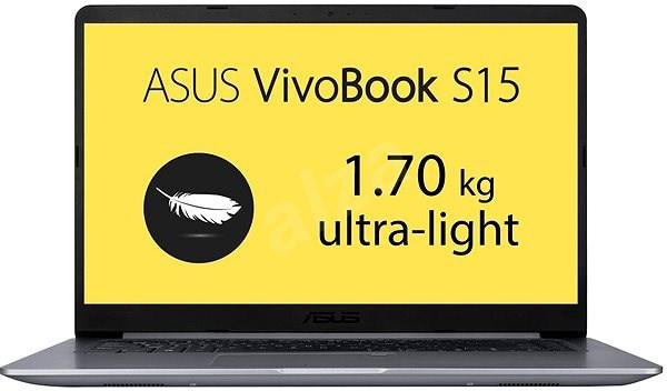 ASUS VivoBook S15 S510UA-BQ508T Gray Metal - Notebook | Alza sk